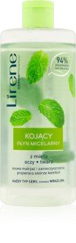 Lirene Mint eau micellaire apaisante pour un nettoyage parfait du visage