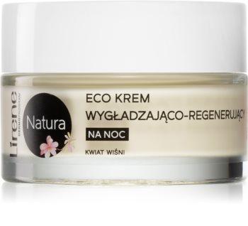 Lirene Natura - Skin Care wygładzający krem na noc regenerujące skórę