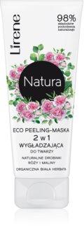 Lirene Natura maska peelingowa rozjaśniająca