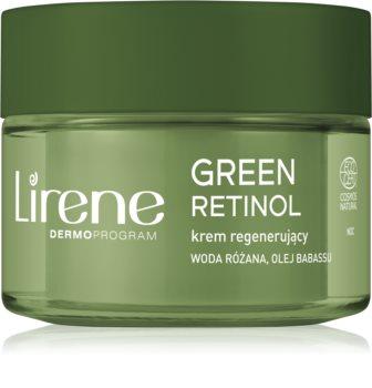 Lirene Green Retinol 60+ crème de nuit régénérante pour rajeunir la peau