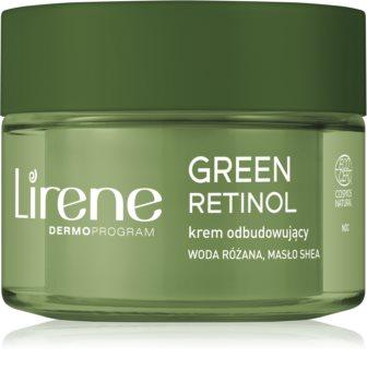 Lirene Green Retinol 70+ odnawiający krem na noc o działaniu przeciwzmarszczkowym