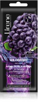 Lirene Masks Wildberry Smoothie hydratační pleťová maska