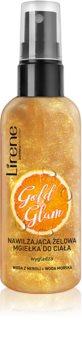 Lirene Gold Glam bruma de corp hidratanta