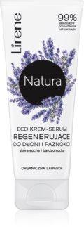 Lirene Natura krémové sérum na ruce a nehty