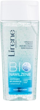 Lirene Bio Hydration gel micellare detergente per viso e occhi