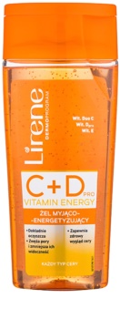 Lirene C+D Pro Vitamin Energy čistilni gel s poživitvenim učinkom