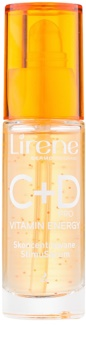 Lirene C+D Pro Vitamin Energy озаряващ серум с изглаждащ ефект