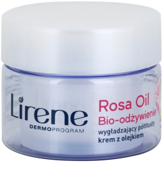 Lirene Essential Oils Rose creme nutritivo suavizante para pele madura