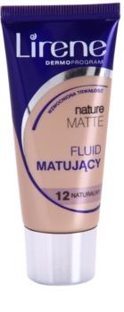 Lirene Nature Matte mattító make-up folyadék a hosszan tartó hatásért