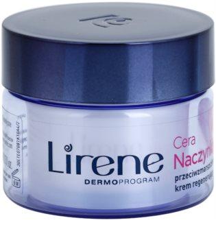 Lirene Redness нощен регенериращ крем против бръчки
