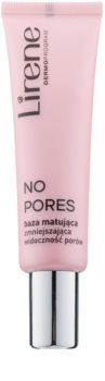 Lirene No Pores base matifiante pour lisser la peau et réduire les pores