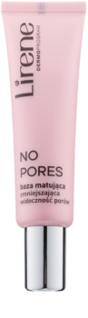 Lirene No Pores матираща основа за изглаждане на кожата и минимизиране на порите