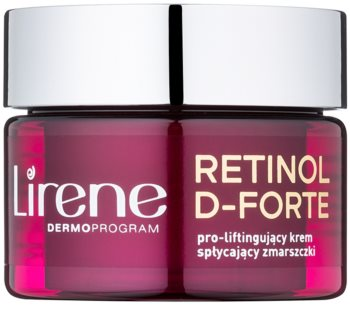 Lirene Retinol D-Forte 50+ crema antirughe giorno con effetto lifting