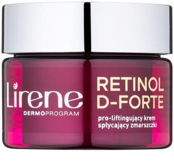 Lirene Retinol D-Forte 50+ дневен крем против бръчки с лифтинг ефект