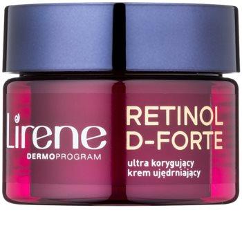 Lirene Retinol D-Forte 50+ creme de noite refirmante para correção de rugas