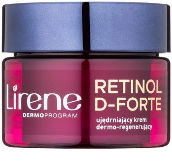 Lirene Retinol D-Forte 60+ Straffende Nachtcreme mit regenerierender Wirkung