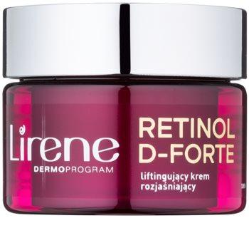 Lirene Retinol D-Forte 70+ crema giorno illuminante con effetto lifting