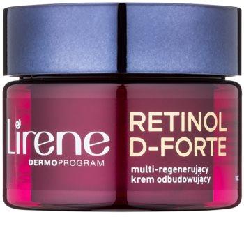 Lirene Retinol D-Forte 70+ crema de noche renovadora y regeneradora