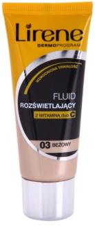 Lirene Vitamin C fond de teint fluide illuminateur pour un effet longue tenue