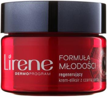 Lirene Youthful Formula 55+ crema de noche regeneradora antiarrugas