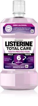 Listerine Total Care Zero вода за уста за цялостна защита на зъбите без алкохол