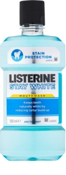 Listerine Stay White enjuague bucal con efecto blanqueador