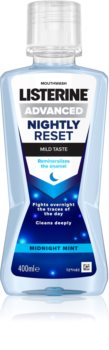 Listerine Nightly Reset Mouthwash Night