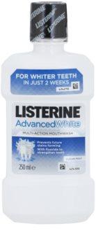 Listerine Advanced White płyn do płukania jamy ustnej o działaniu wybielającym