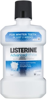 Listerine Advanced White Mondwater  met Whitening Werking