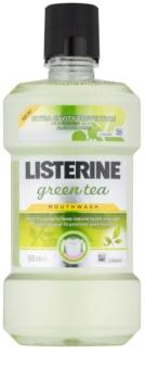 Listerine Green Tea elixir bocal para reforçar o esmalte dentário