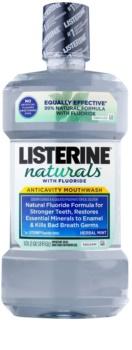 Listerine Naturals Herbal Mint XXX com fluór