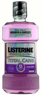 Listerine Total Care Clean Mint bain de bouche pour une protection complète des dents 6 en 1