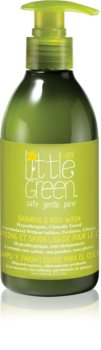 Little Green Baby шампоан и душ гел 2 в 1 за деца от раждането им