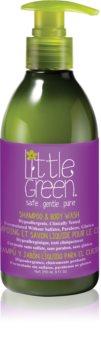 Little Green Kids Shampoo og brusegel 2-i-1 til børn