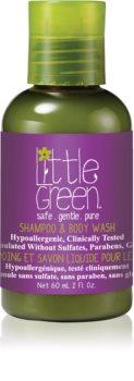 Little Green Kids шампоан и душ гел 2 в 1 за деца