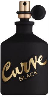 Liz Claiborne Curve  Black água de colónia para homens