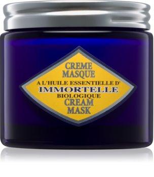 L'Occitane Immortelle máscara facial para pele normal a seca