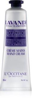 L'Occitane Lavender крем за ръце и нокти с масло от шеа