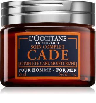 L'Occitane Eau de Cade Pour Homme intenzívny hydratačný krém s omladzujúcim účinkom