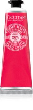 L'Occitane Karité crema de maini cu aromă de trandafiri