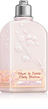 L'Occitane Fleurs de Cerisier testápoló tej