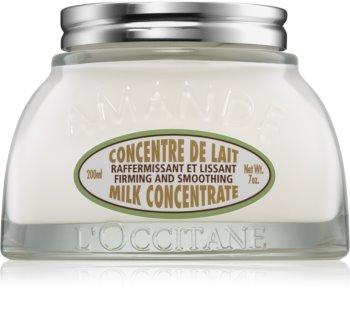 L'Occitane Amande Milk Concentrate zpevňující tělový krém