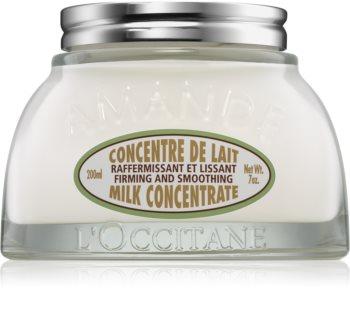 L'Occitane Amande Milk Concentrate стягащ крем за тяло