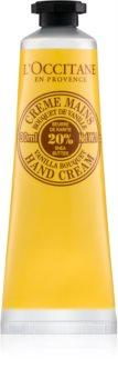 L'Occitane Hand Cream Vanilla крем за ръце с аромат на ванилия