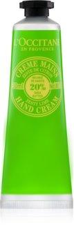 L'Occitane Shea Butter Håndcreme med lime aroma