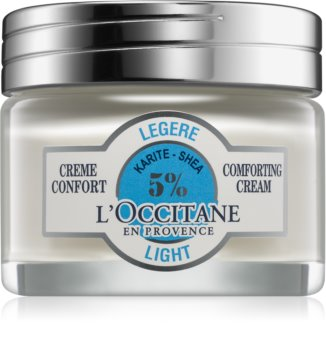 L'Occitane Karité нежен крем за лице с масло от шеа