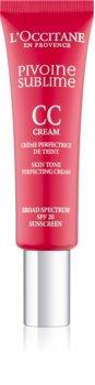 L'Occitane Pivoine Sublime crema CC con color SPF 20