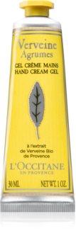 L'Occitane Verveine Agrumes kremowy żel  do rąk
