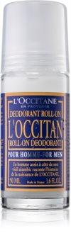 L'Occitane Pour Homme desodorizante roll-on para homens