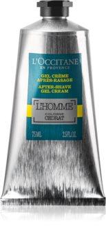 L'Occitane Homme hidratáló géles krém borotválkozás után